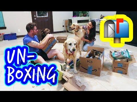 LABor of Love: UN-BOXING Rescue Dog Donations!   Ep 3