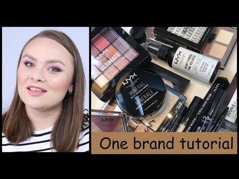 One brand tutorial - Nyx Cosmetics | First impressions
