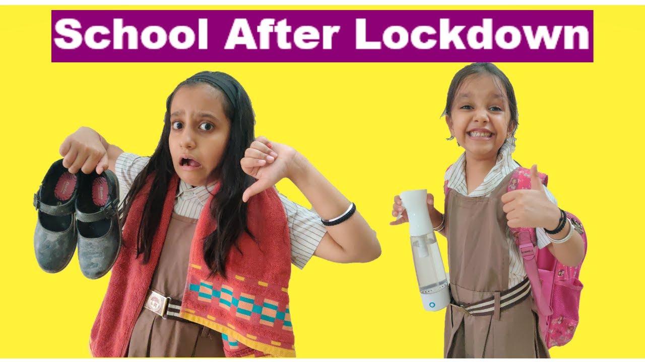 Back to School | School after Lockdown | Short movie for Kids | #Funny #Kids RhythmVeronica