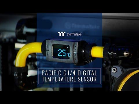 Pacific G 1/4 Digital Temperature Sensor