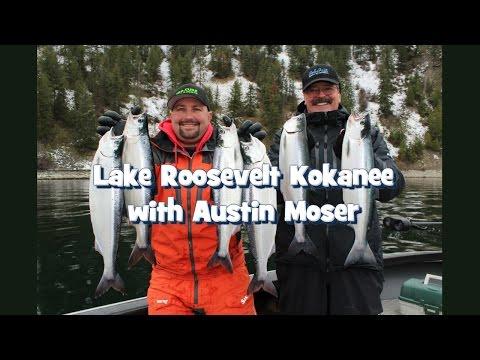 Lake Roosevelt Kokanee with Austin Moser