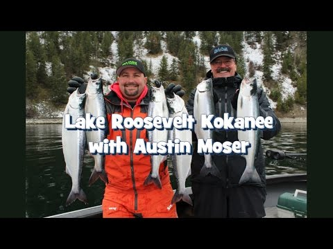 Lake Roosevelt Kokanee With Austin Moser
