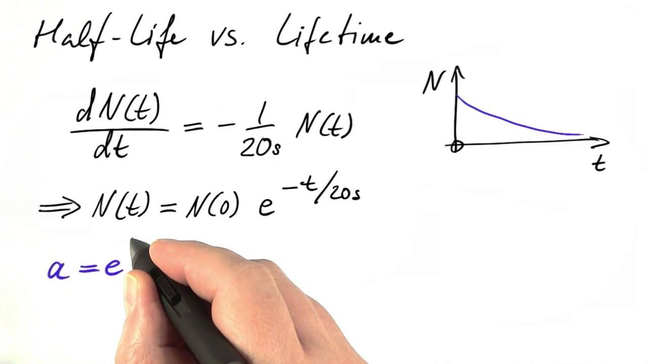 Computing Half Life