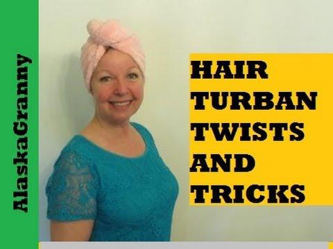 How To Twist Turbie Twist Hair Turban Youtube