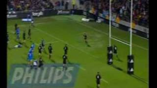 Christian Cullen 103m try vs Italy
