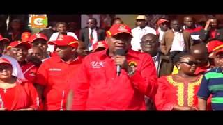 Rais Uhuru Kenyatta aongoza kampeni za Jubilee jijini