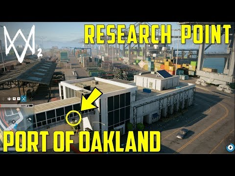 Research Point | Port of Oakland | Watch Dogs 2