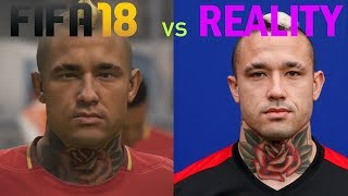 FIFA 18| Player Tattoos Comparison ||HD||