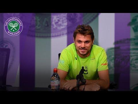 Stan Wawrinka Wimbledon 2017 pre-tournament press conference