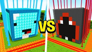 Skeppy vs BadBoyHalo MOST Secure House Battle! - Minecraft