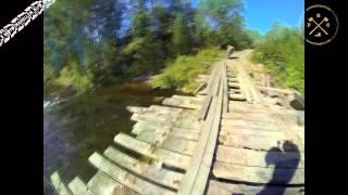 На мотоцикле по Северному Приладожью, Карелия.(Небольшое видео-дополнение к текстовому отчету о путешествии вдоль северного берега Ладожского озера,..., 2015-11-23T14:09:09.000Z)
