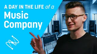 A Day in the Life of a Music Company | iZotope
