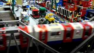 Lego London Underground Train