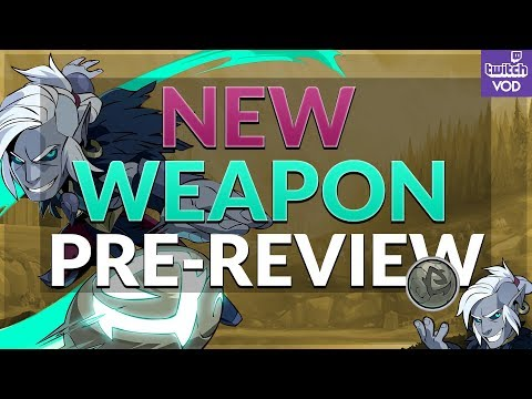Brawlhalla - New Weapon Pre-Review