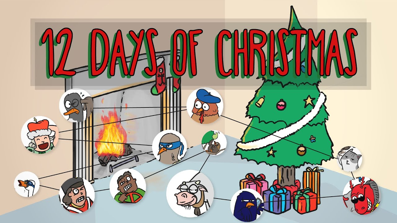 12 days of christmas how many gifts do you get - How Many Days Of Christmas