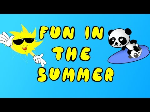 CHILDREN'S SUMMER SONG!!! | SO MUCH FUN IN THE SUMMER | SEASONS By Dj Kids
