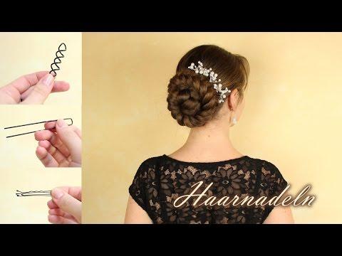 Haarnadeln - was verwende ich um meine Haare hochzustecken?