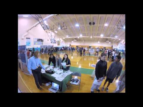 TIME-LAPSE: Career fair at Destin Middle School
