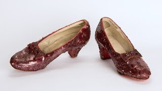 'Wizard of Oz' Ruby Red Slippers Found By FBI 13 Years After Being Stolen
