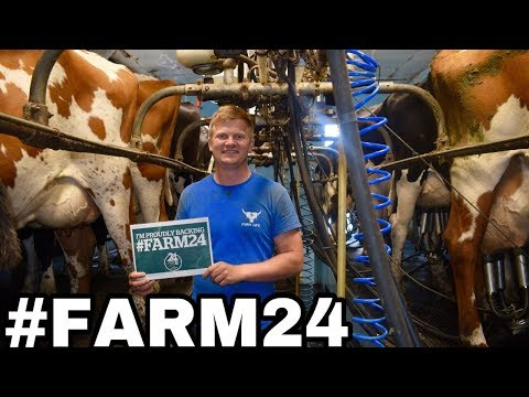 A DAY IN THE LIFE OF A FARMER #FARM24