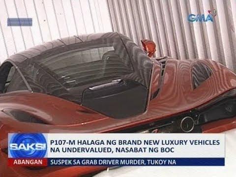 Saksi: P107-M halaga ng brand new luxury vehicles na undervalued, nasabat ng BOC