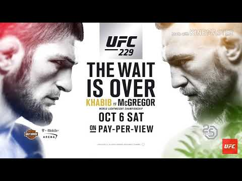 UFC 229: The Wait Is Over First Look Of Nurmagomedov (Lesnar) Vs McGregor (Reigns) (HD)