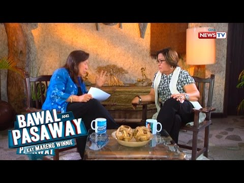 Bawal ang Pasaway: Senator De Lima admits relationship with Ronnie Dayan