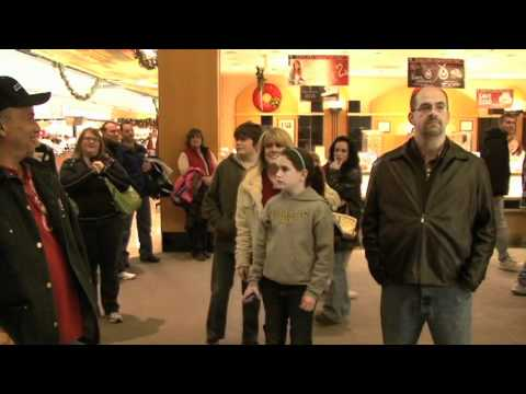 Christmas Food Court Flash Mob Hallelujah Chorus Avi