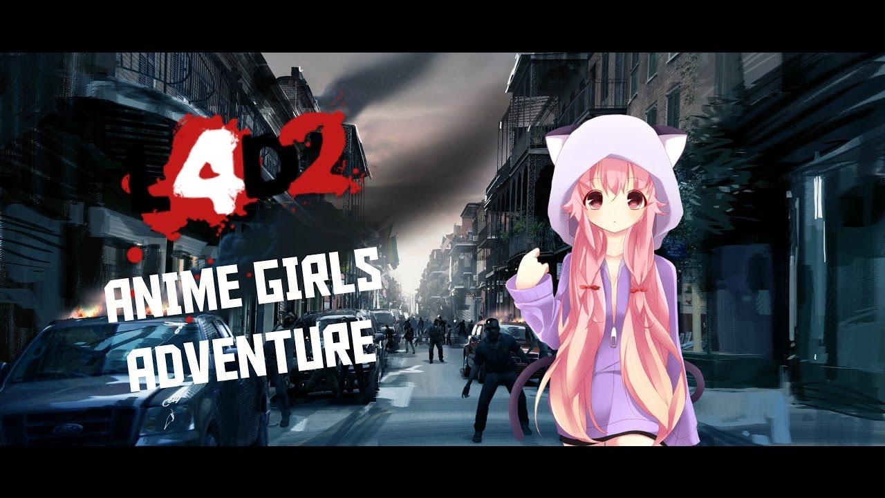 Left 4 dead 2 | Anime Girls Adventure [Anime Mod]