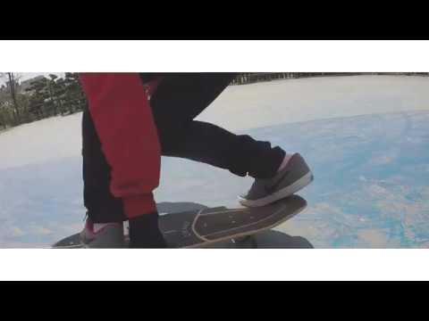 [카버보드] Land Surfing - Carver Skateboards 4