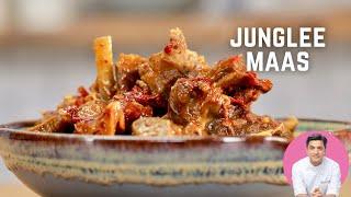 Junglee Maas   Kunal Kapur   5 ingredient mutton recipe