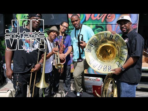 "REBIRTH BRASS BAND - ""Move Your Body"" (Live in New Orleans) #JAMINTHEVAN"
