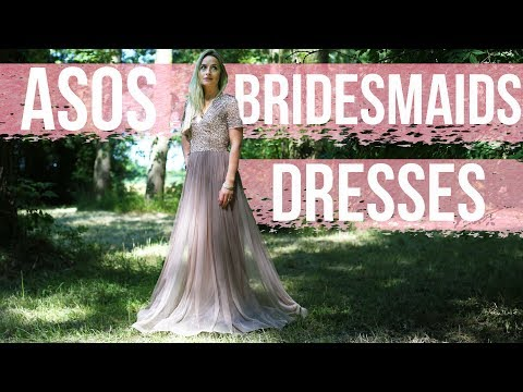 trying-asos-bridesmaid's-dresses!