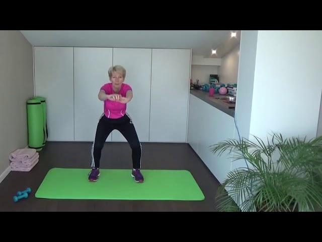Sterke benen trainen, dat doe je met Elke dag fit