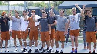 #8 Texas Men's Tennis upsets No. 2 Ohio State, 4-3