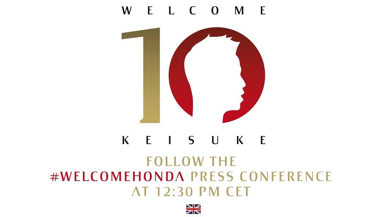 AC Milan | Keisuke Honda - Official Presentation (ENG ...