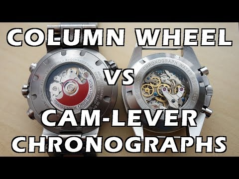 Which is Better? Column Wheel vs Cam-Lever Actuated Chronographs - Perth WAtch #90