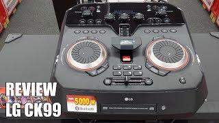 Review LG CK99 Nuevo Altavoz para Fiestas Bluetooth 5000W 2018
