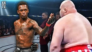 5 Unforgettable Israel Adesanya Matrix Moments in UFC! (2019)