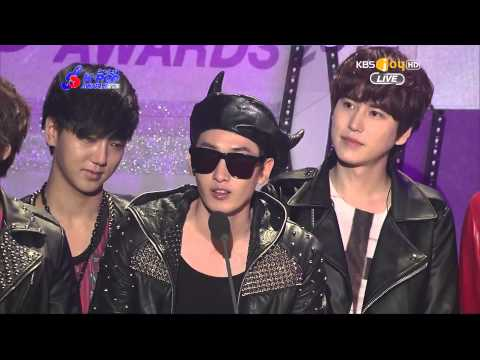 130213 Gaon Chart Kpop Award - Album for 3rd Quarter of the Year