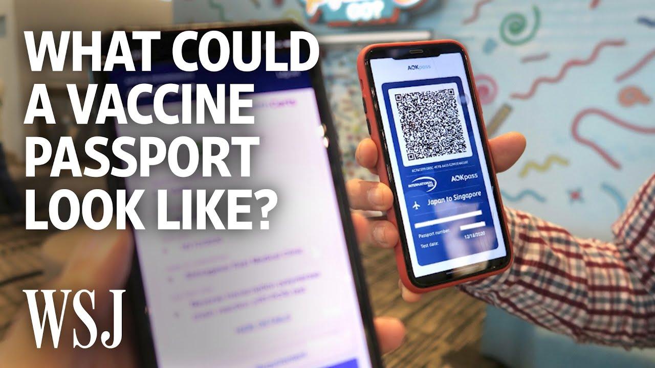 New Technology: How a Digital Health Passport Could Work 2/10/21