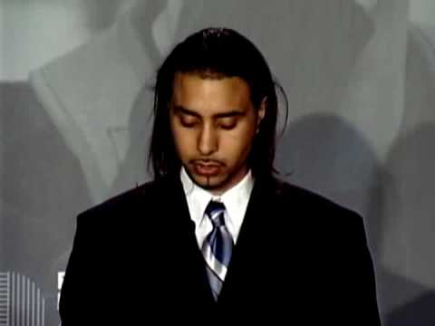 Student Jonathan V. Speaks at the 2005 New York Be...