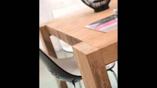 Solid Wood Dining Tables In Singapore, Built From Recycled Teak