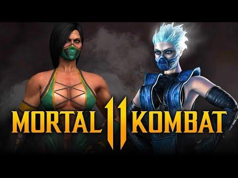 MORTAL KOMBAT 11 - NEW Characters LEAKED! Jade, Kotal Kahn, Frost & MORE! thumbnail