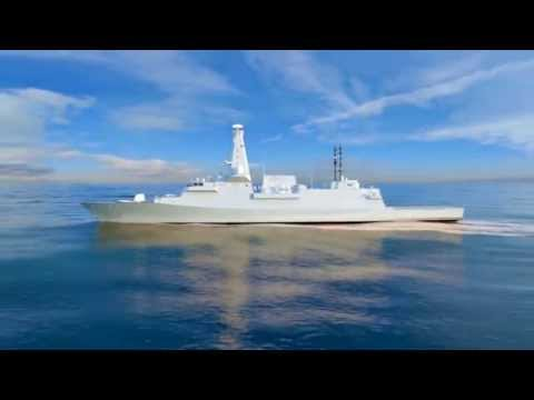 The project is a multipurpose combat ship Type 26 GCS to the Navy of great Britain