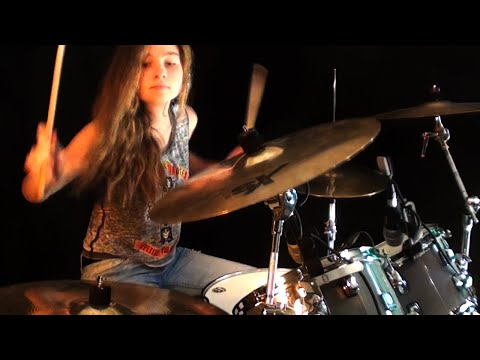 The Trooper (Iron Maiden); drum cover by Sina