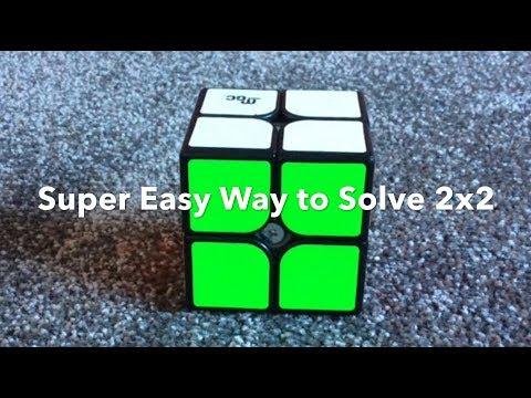 Super Easy Way to solve 2x2 Rubik's cubes (1 algorithm)