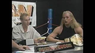 Pro Wrestling Weekly Interview with Nicole Bass 2000 Part 1
