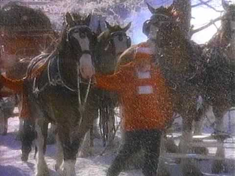 Budweiser Christmas Advert 1987