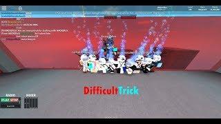 ROBLOX Parkour Difficult Trick!